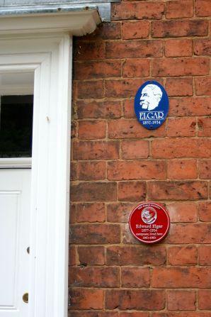 Elgar lived here as a boy.