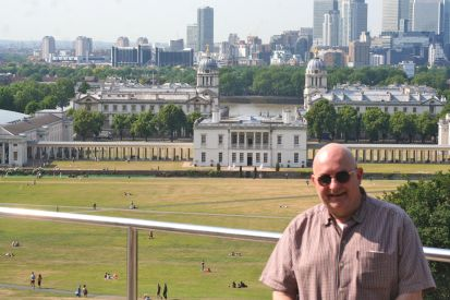 The view of the Royal Naval College and the Queen's House.