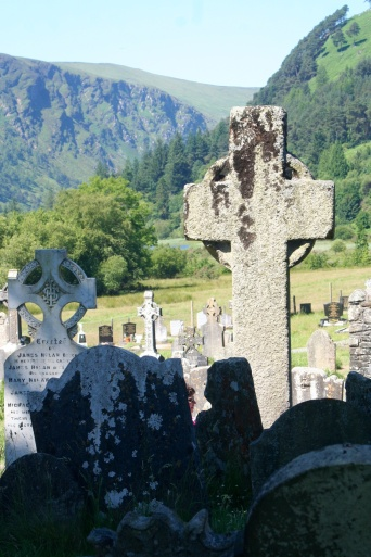 Glendalough, Ireland.