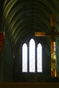 West windows at St. Patrick's.