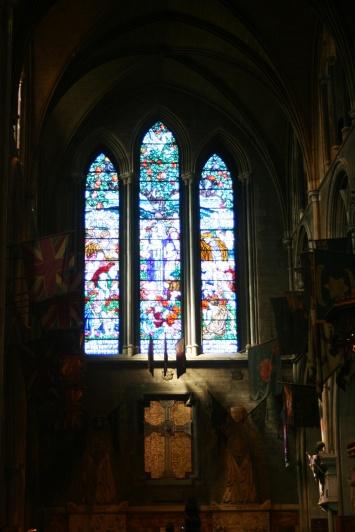 North transept at St. Patrick's.