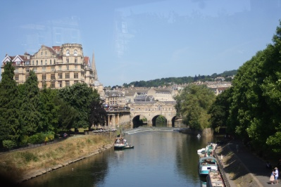 A lovely town, Bath.