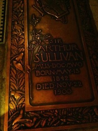 Arthur Sullivan.