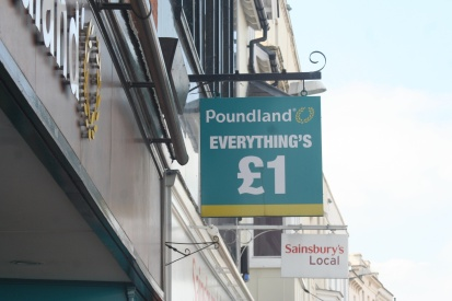 A British version of Dollar Store.