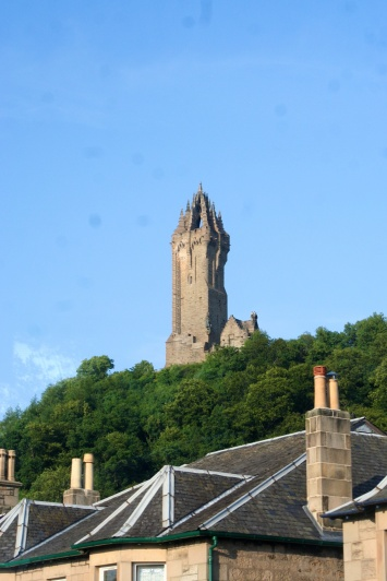 The William Wallace monument in Stirling.