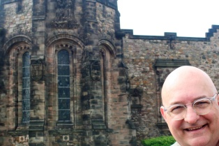 At Edinburgh Castle.