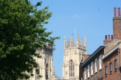 The west front of York Minster.