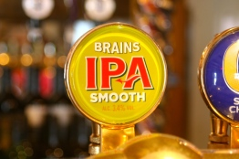 Brains is the bit Welsh brewer.