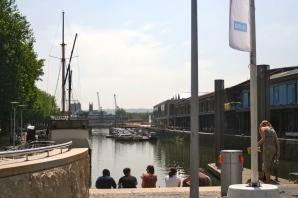 Old quay in Bristol.