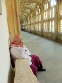 At Wells Cathedral.