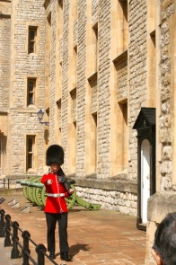 Guarding the Crown Jewels.