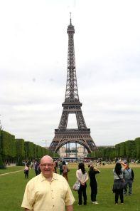 Eiffel Tower et moi.