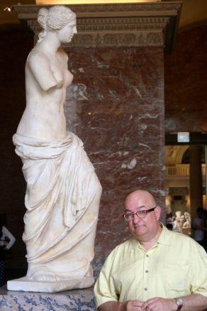 Venus di Milo et moi.