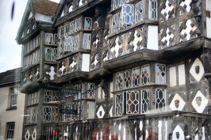 Tudor buildings in Ludlow.