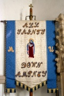 The church's banner.