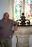 The font where RVW was baptised.