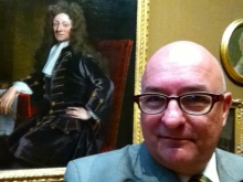 With Sir Christopher Wren.