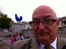 With the latest addition to Trafalgar Square.