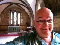 At St. Mary de Lode church.