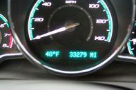 40 degrees outside.