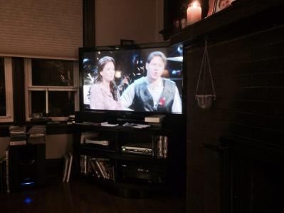 Watching CAROUSEL Sunday evening.