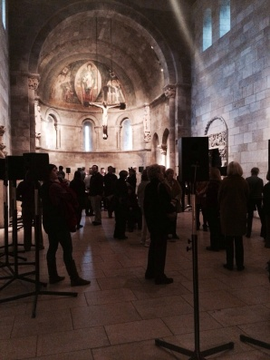 The Tallis installation at the Cloisters.