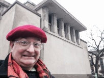 At Unity Temple.