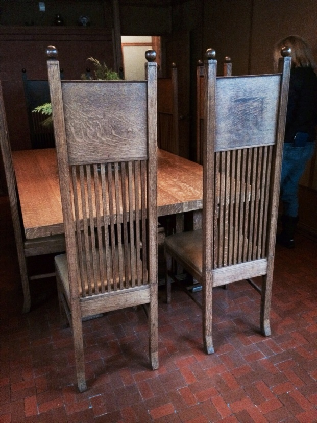Dining room chairs.