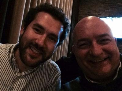 With Adam Hendrickson.