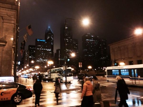 Michigan Avenue.