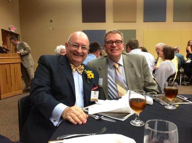 With my dear, life-long friend Tom Flint.