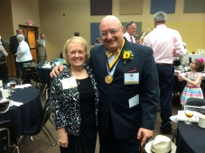 With Dr. Verna Brummett, my first music teacher.