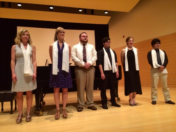 Departmental Honors recipients from the Department of Music.