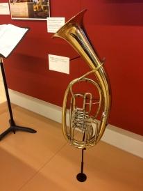 A Wagner tuba.