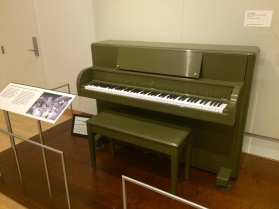 A GI field piano from Steinway, for WWII.