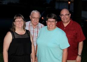 Beth, Pop, Karen, JC. 10 June 2015.