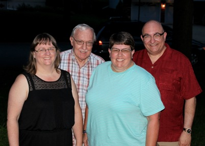 Beth, Pop, Karen, JC. 10 June 2015.