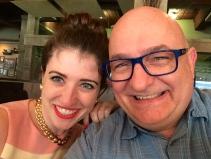 With Sarah Goldrainer.