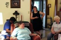 Debby, Karen, Beth.