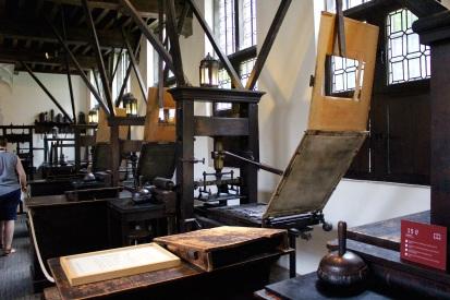 Printing presses!