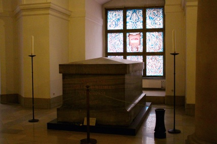 The tomb of Frederick the Great.