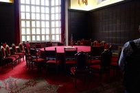 The Potsdam Conference room at Cecilienhof.