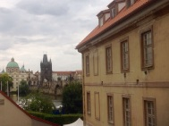 The view from my room in Prague.