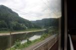 Elbe River in the Czech Republic.