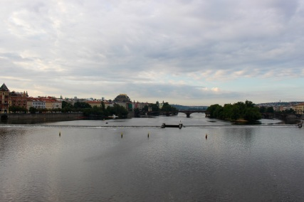 Vlatava River, looking south.