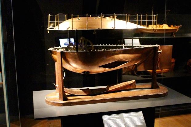 Model submarine. Rijksmuseum.