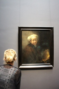 Rembrandt self-portrait. Rijksmuseum