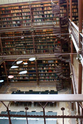 Rijksmuseum library.