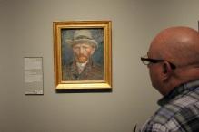 Van Gogh self-portrait. Rijksmuseum.