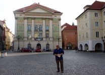 At the Estates Theatre, of Mozart fame.